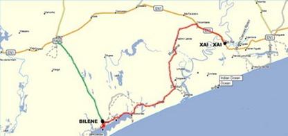 Mapa Bilena