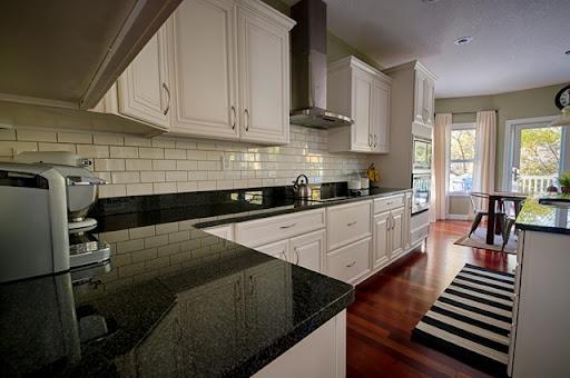 Install a Kitchen Backsplash without Mortar! & Kitchen Backsplash: Subway Tile Edition \u2014 Decor and the Dog
