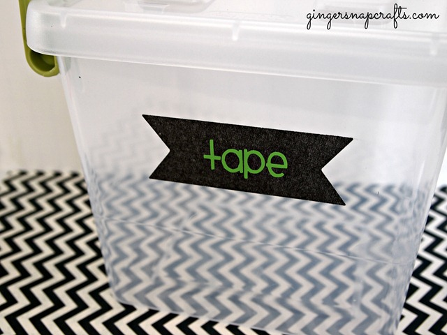 craft organization bins