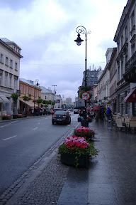 The streets of Warsaw