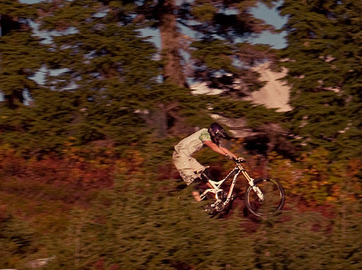 connor mcleod, trek session 88 2010, downhill mountain biking, whistler, brohm ridge,