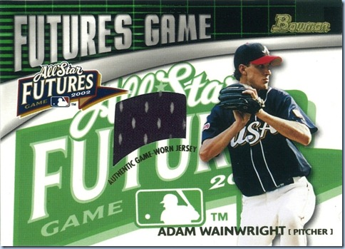 2006 Bowman Futures Game Wainwright Jersey