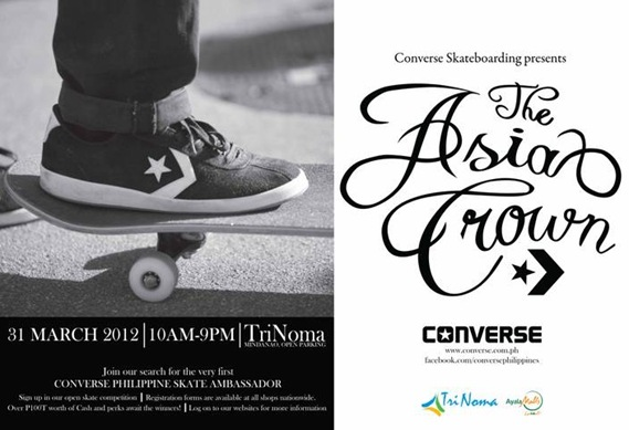 Int'l Pro Skaterboarders to Grace Converse Phils. Asia Crown Skate Summit