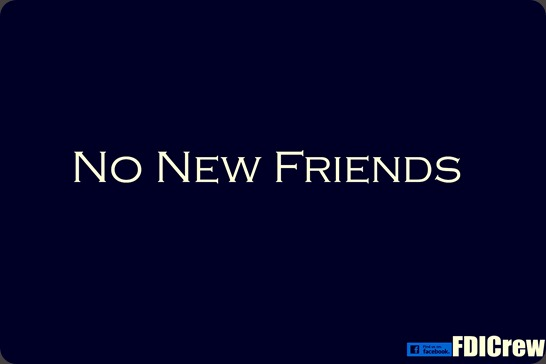 No New Friends_Josh
