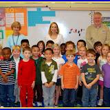 WBFJ Cici's Pizza Pledge - Millis Road Elementary - Ms. Dezern & Ms. Davis Kindergarten Class - Jame
