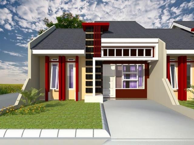 Desain rumah minimalis type 45 2013