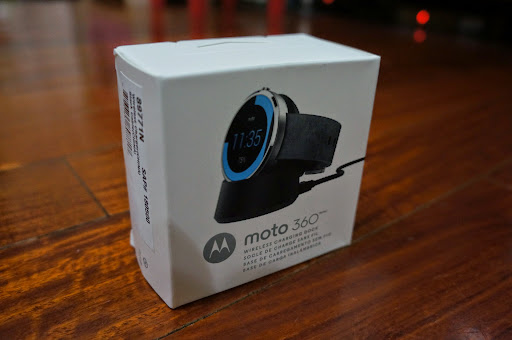 Moto 360 Wireless Charging Dock