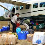 Per Flugzeug werden Lebensmittel von der Farm in Mufindi zu den Foxes Safari Camps in Südtansania transportiert. © Foto: Marco Penzel | Outback Africa Erlebnisreisen