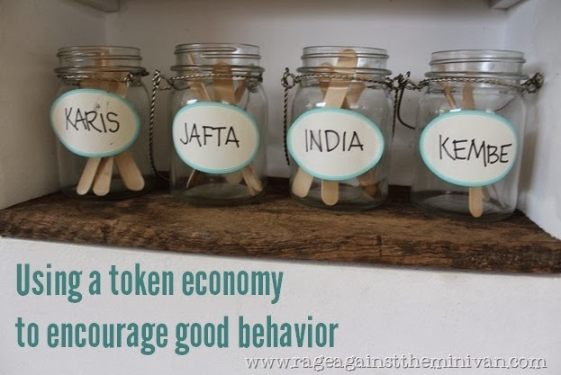 Easy reward system for kids
