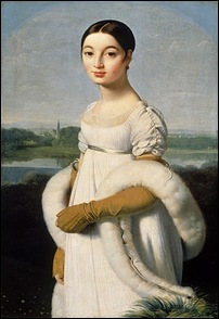 Ingres, Mademoiselle Rivière