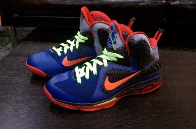 "Nike LeBron 9 ""NERF"" Colorway by Mache Custom Kicks 