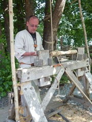 crannog woodturning