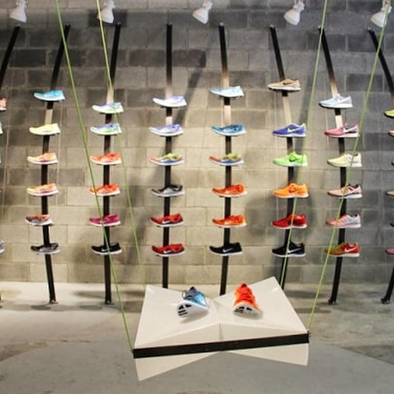 Nike Store de Shanghai construido 5.500 latas de gaseosas recicladas
