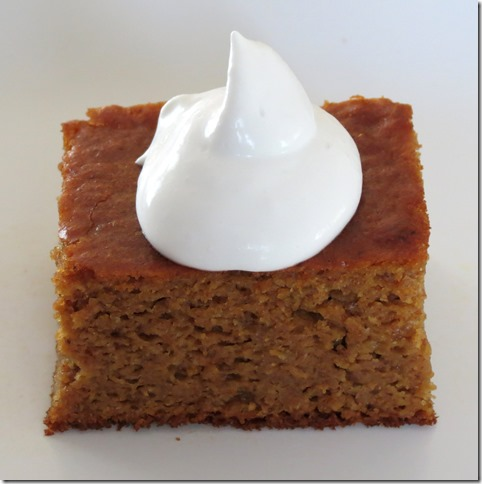 Grain Free Pumpkin Gingerbread Cake