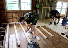 1408054 Aug 04 Mark Screwing Down 2x4s