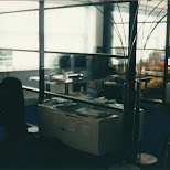 veel Applce MAC's op kantoor in Hilversum, Noord Holland, Netherlands