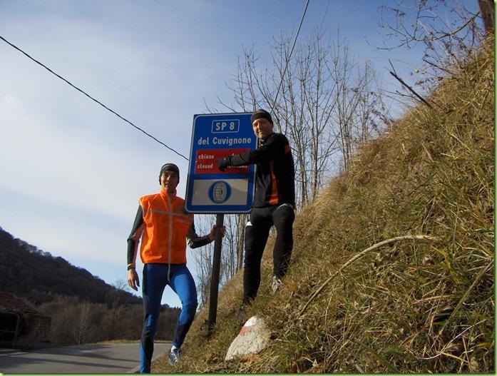 Passo del Cuvignone chiuso...  non per tutti!