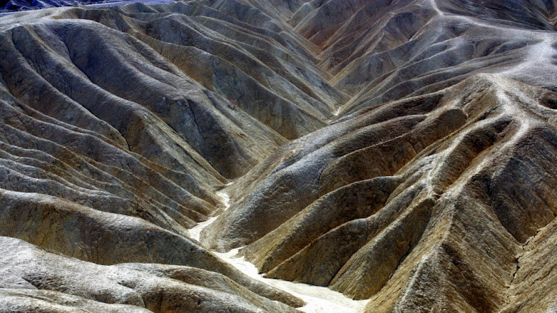 Zabriskie Point Closeup