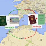 Le CCTA écrit à M. l'Ambassadeur d'Algérie en France, au sujet des documents à présenter pour rentrer en Algérie