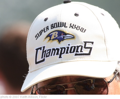 'Baltimore Ravens' photo (c) 2007, Keith Allison - license: http://creativecommons.org/licenses/by-sa/2.0/
