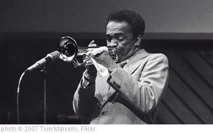 'Howard McGhee - trumpet' photo (c) 2007, Tom Marcello - license: http://creativecommons.org/licenses/by-sa/2.0/