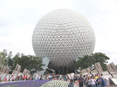 Disney trip Epcot ball