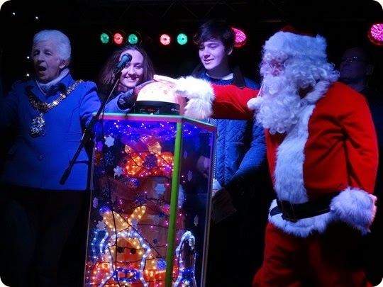 Crewe Christmas lights switch-on