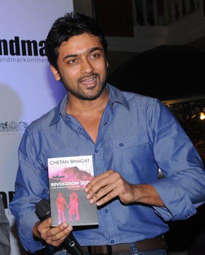 Surya @ Chetan Bhagat Revolution 2020 Book Launch | Actor