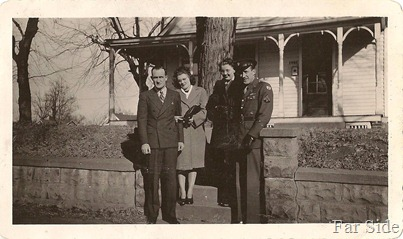Marvin Evelyn Esther Jim Omaha 1944