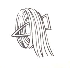 Standing pin curl or barrel pin curl - Pin Curls 101 | Lavender & Twill