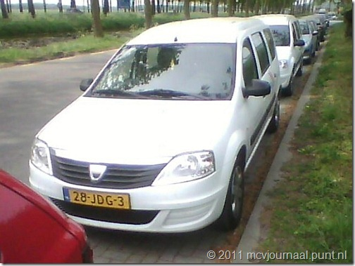 Dacia Logan MCV uitzendkracht 01