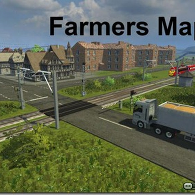 Farming simulator 2013 - Farmers Map