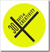 30daysofcreativity