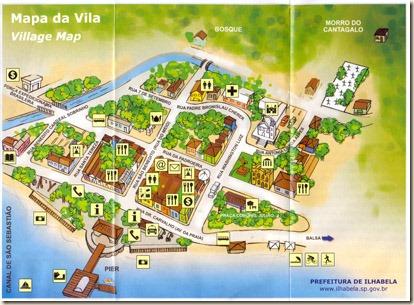 Mapa da Vila pq