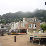 Waterfront homes in Sausalito