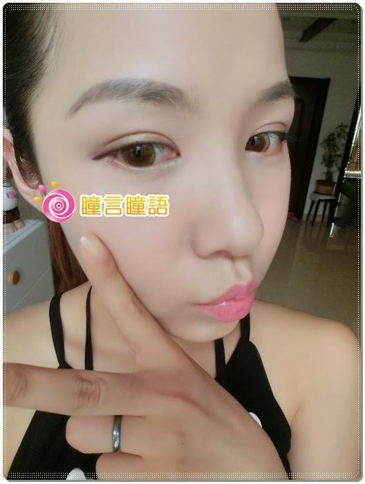 日本ROYAL VISION隱形眼鏡-蜜桃甜心金咖8