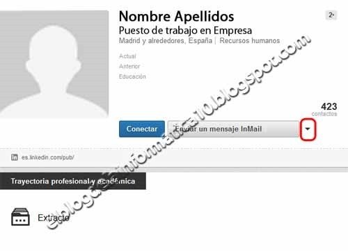 perfil usuario linkedin