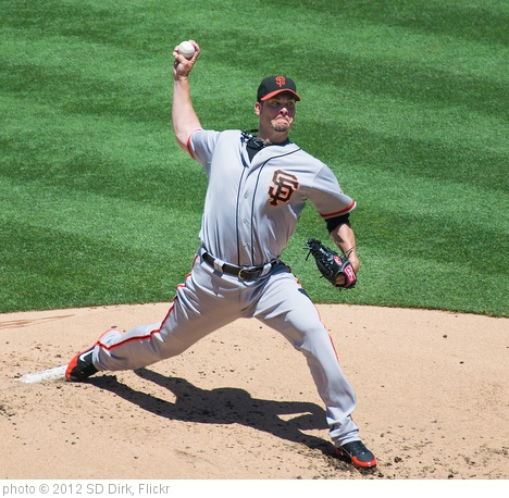 'Ryan Vogelsong' photo (c) 2012, SD Dirk - license: http://creativecommons.org/licenses/by/2.0/