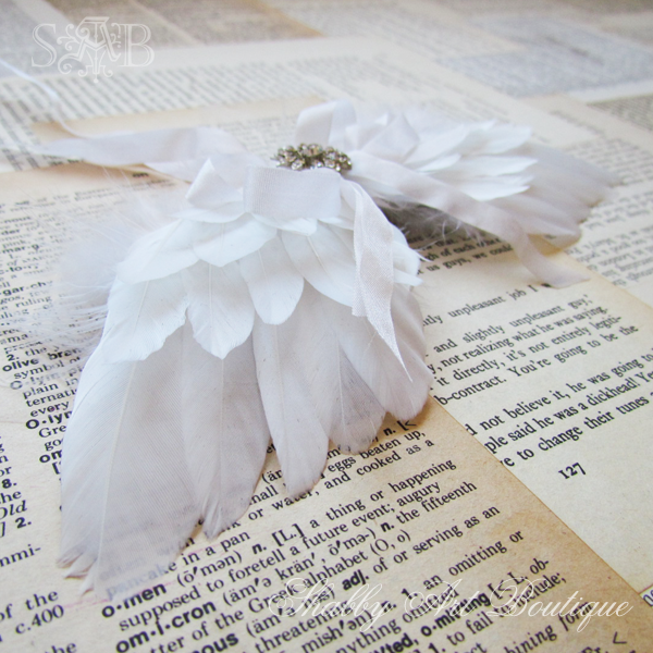 Shabby Art Boutique Angel Wings 2