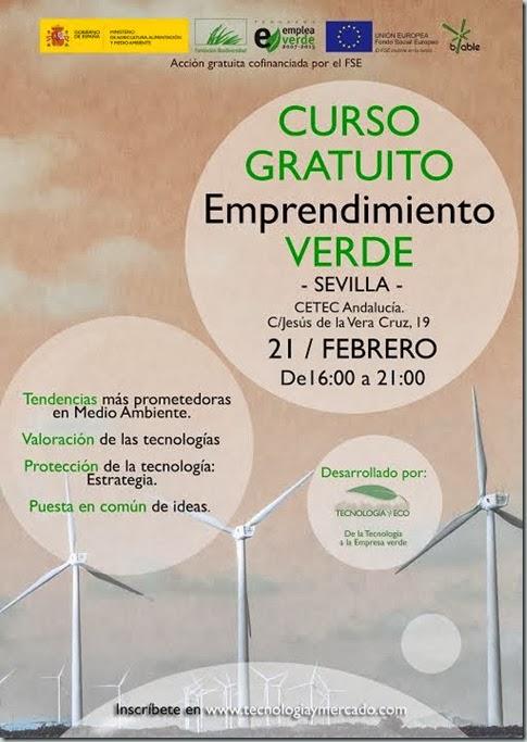 Curso Gratuito Emprendimiento Verde-Sevilla