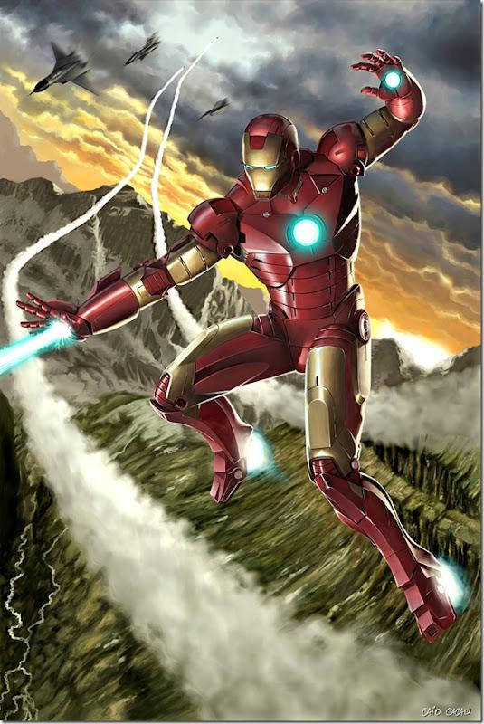 Iron man ,Anthony Edward ,Tony Stark (100)