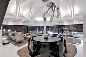 Muebles-de-comedor-negro-de-diseño