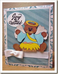 yolie angel bear card