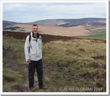 Dave, Heptonstall Moor, Pennine Way