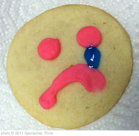 'Sad Cookie' photo (c) 2011, Spectacles - license: http://creativecommons.org/licenses/by/2.0/