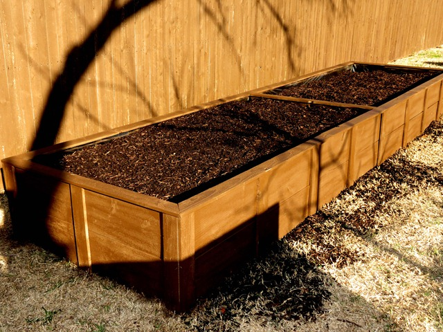 building raised garden box style with cents14