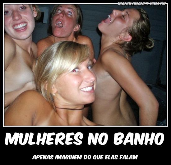 Mulheres no Banho