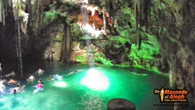 [México] Por los Cenotes de Cuzamá a todo galope #Yucatán