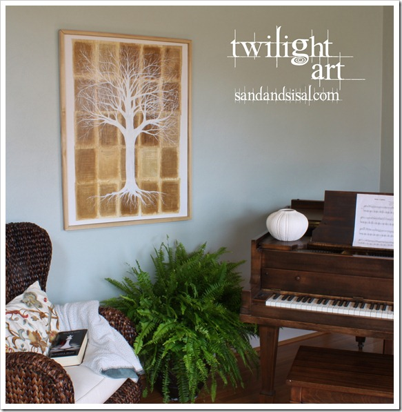 Twilight Art by Sand & Sisal