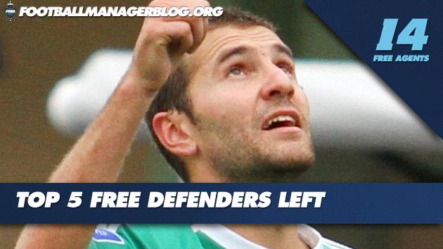 Top 5 Free Defenders Left FM 2014